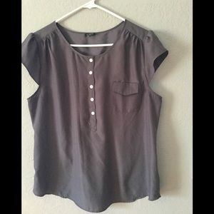 Dark gray blouse